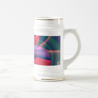 Magic Flower Beer Stein