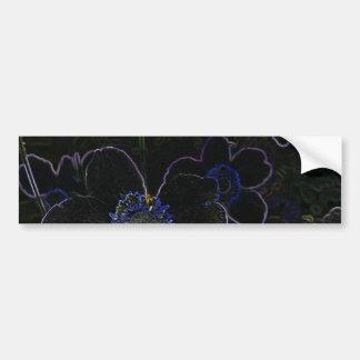 Magic Flower Bumper Sticker