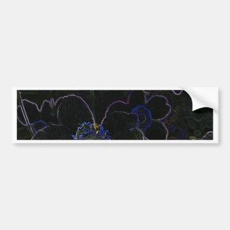 Magic Flower Bumper Stickers