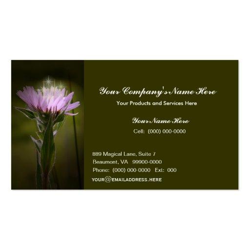 Magic Flower Business Card