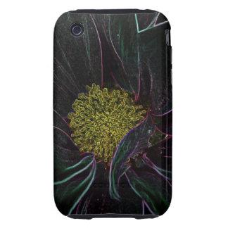 Magic Flower iPhone 3 Tough Cases