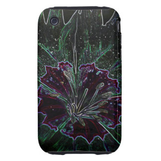 Magic Flower Tough iPhone 3 Cover