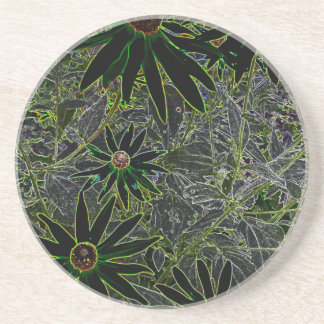 Magic Flower Beverage Coasters