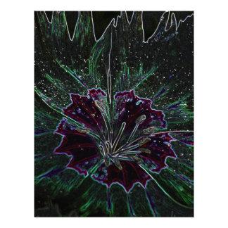 Magic Flower Custom Flyer