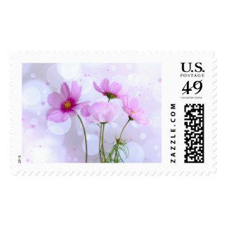 Magic Flower Postage Stamp