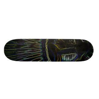 Magic Flower Custom Skate Board