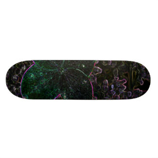 Magic Flower Skate Board Deck