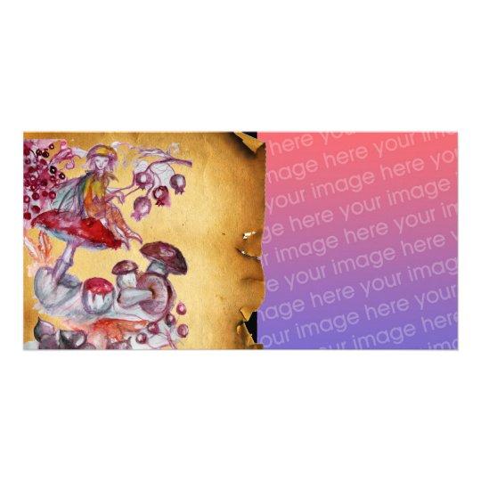 MAGIC FOLLET OF MUSHROOMS CARD