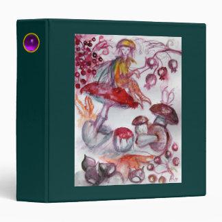 MAGIC FOLLET OF MUSHROOMS Fantasy Red Green Recipe Binder
