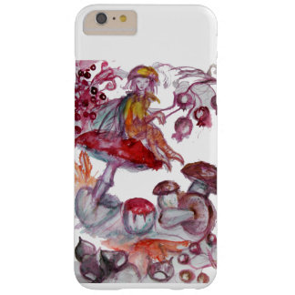 MAGIC FOLLET OF MUSHROOMS Red White Floral Fantasy Barely There iPhone 6 Plus Case