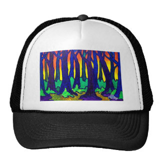 Magic Forest 2 by Piliero Trucker Hats