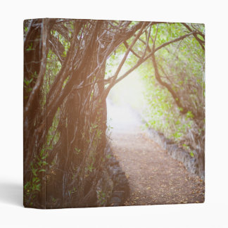 Magic forest in the morning 3 ring binders