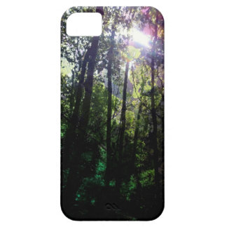 Magic forest lens flare tree photography iPhone SE/5/5s case