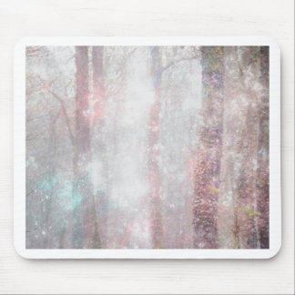 Magic forest mouse pad
