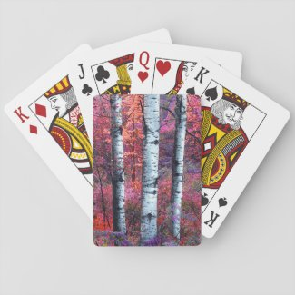 Magic Forest Playing Cards