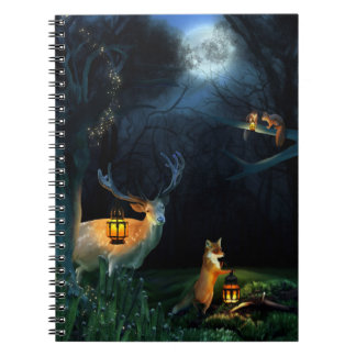 Magic Forest Wildlife Notebook