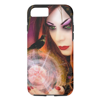 Magic Forest Witch iPhone 7 Case