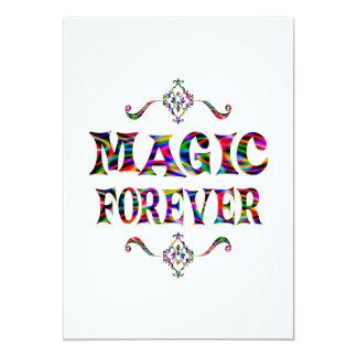 Magic Forever Custom Invitation
