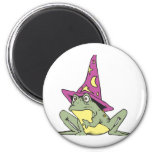 Magic Frog 2 Inch Round Magnet