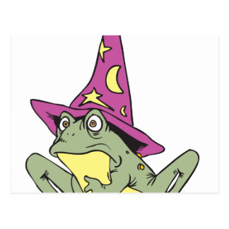Magic Frog Postcard