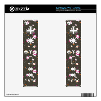 Magic funky  ladybug retro decal for wii remote