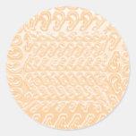 MAGIC Garden: Blue Pink Golden Templates Round Sticker