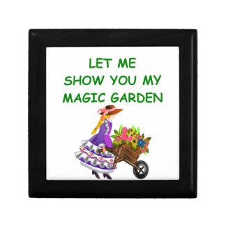 magic garden jewelry box