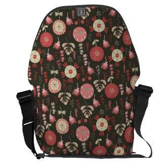 Magic garden courier bag