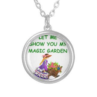 magic garden pendant