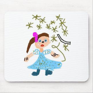Magic Girl Princess Mouse Pad