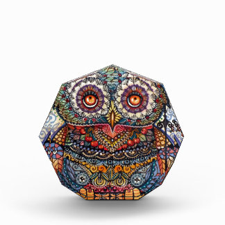 Magic graphic owl painting awards