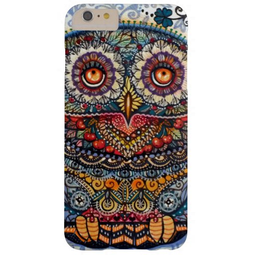 Magic graphic owl painting Barely There Iphone 6 Plus Case