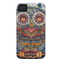 Magic graphic owl painting Case-Mate iPhone 4 case