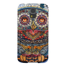 Magic graphic owl painting galaxy s5 case