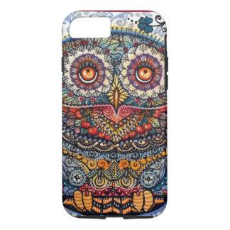 Magic graphic owl painting iPhone 7 case