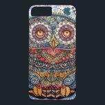 "Magic graphic owl painting iPhone 8 plus/7 plus case<br><div class=""desc"">owl</div>"
