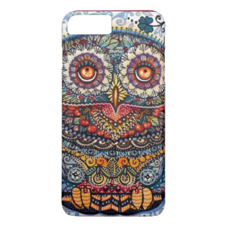Magic graphic owl painting iPhone 8 plus/7 plus case