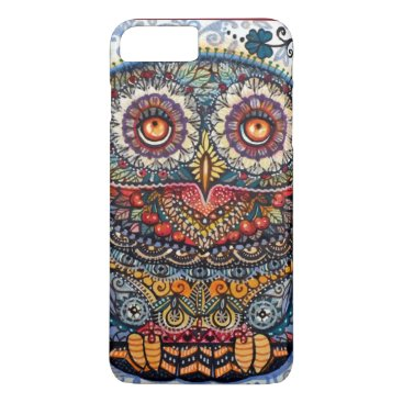 Oxanacats Magic graphic owl painting iPhone 8 plus/7 plus case