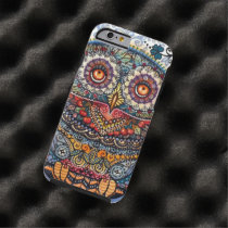 Magic graphic owl painting tough iPhone 6 case