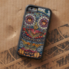 Magic Graphic Owl Painting Tough Xtreme Iphone 6 Case at Zazzle
