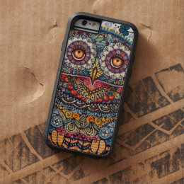 Magic graphic owl painting tough xtreme iPhone 6 case