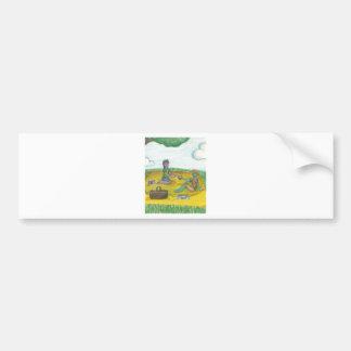 Magic Green Cup Picnic Bumper Sticker