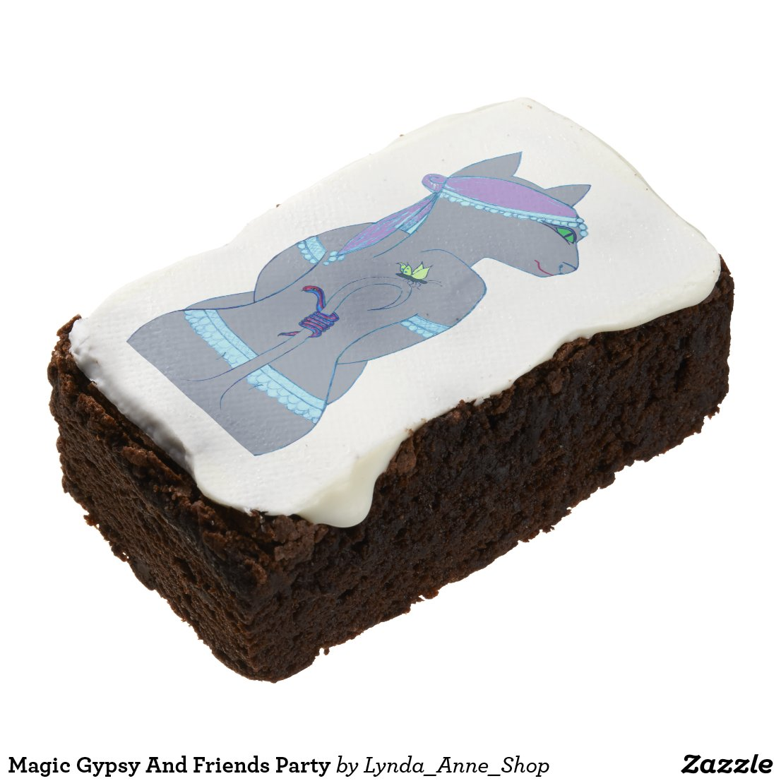 Magic Gypsy And Friends Party Brownie