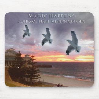 Magic Happens - Cottesloe Perth Western Australia Mouse Pad