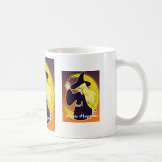Magic Happens cup Classic White Coffee Mug
