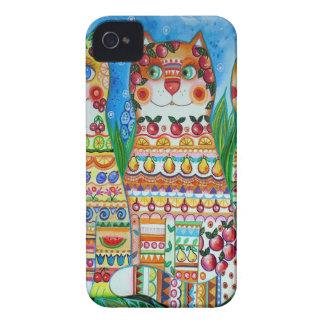 Magic happy cats Case-Mate iPhone 4 case