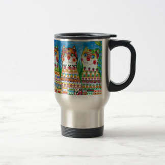Magic happy cats 15 oz stainless steel travel mug