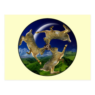 Magic Hares Post Card