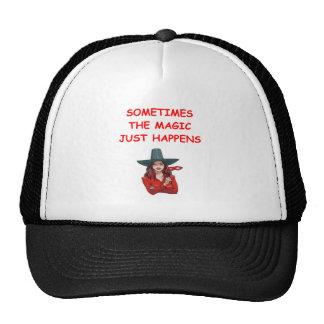 magic trucker hat