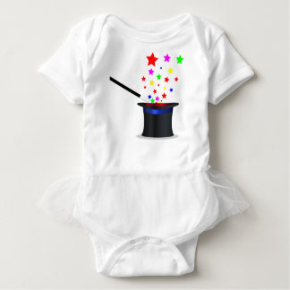 Magic Hat And Wand Baby Bodysuit